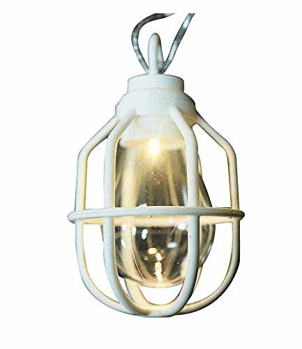 ドウシシャ ガーデンライト 屋外 LED電池式ライト 10球 クラシックランプ ホワイト LPB-CR10W