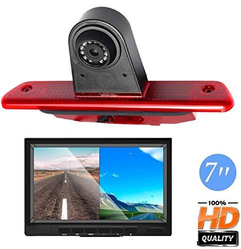 Super HD Rear View Backup Camera Set for Fiat Talento//Scudo 220 270//Renault Trafic//Master II//Nissan Primastar//Interstar//Opel Vivaro Surf Concept//Life//Combo//Vauxhall//Movano X70 Kasten//Peugeot Expert
