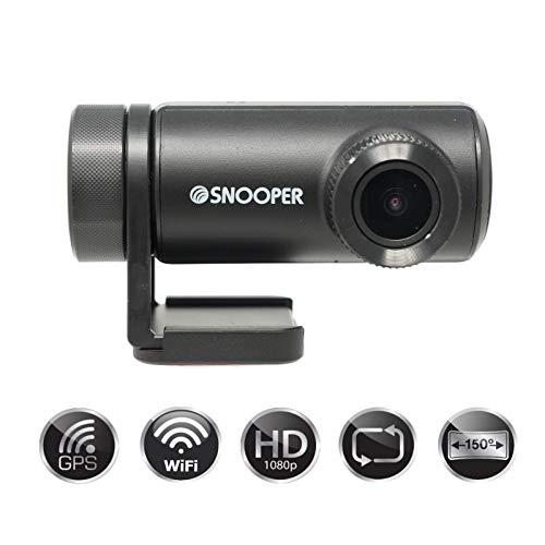 Snooper DVR-WF1 Dash CAM - Gran Angular, GPS y WiFi habilita
