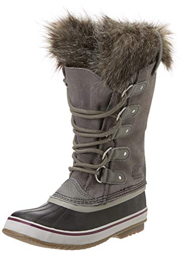 Sorel Women's Joan of Arctic Boots, Quarry/Black, 8.5 Medium US