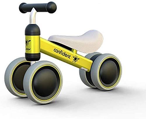 juguete Lyl Adecuado for 1-3 años de Edad Triciclo for niños Four-Wheeler Balance Bike Walker Luz Trolley Boy Girl (Color : D)
