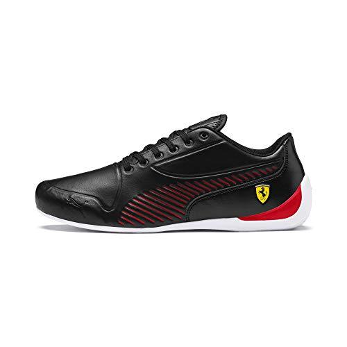 PUMA SF Drift CAT 7S Ultra Ferrari Herren 306424-01 (45 EU, Schwarz (Schwarz/Rot/Weiß))