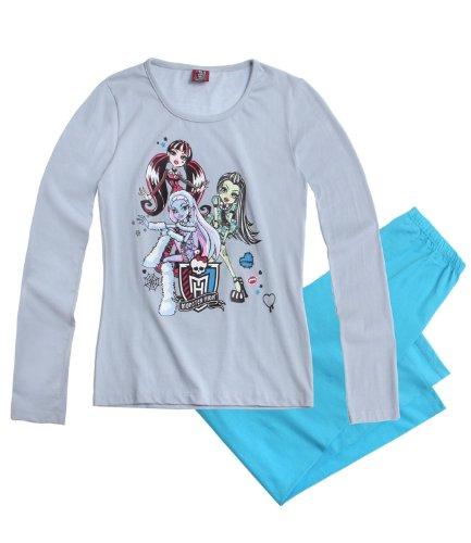 Monster High Pyjama blau (128)