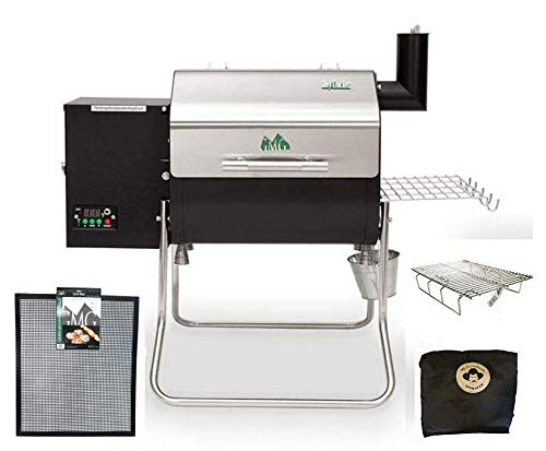 Great Features Of Davy Crockett Pellet Grill Package Includes Cover-Collapsible Rack-Small Mat