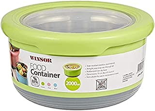 Winsor Food Container 2 Liter, Assorted Colors - Wfc2000