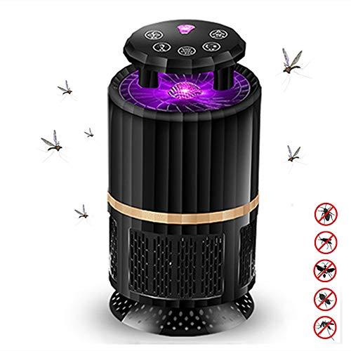 yzdhaxa Photocatalyseur Lampe Anti-Moustique Télécommande Lampe Moustique Maison Protection De l'environnement Muet Lampe Moustique Appuyez sur Cinq Touches + avec Télécommande Noire