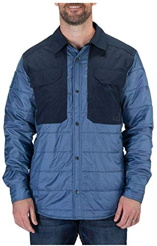5.11 Tactical Peninsula Veste isolante pour homme Style 72123, Homme, 72123, Ensign Blue Heather, X-Small