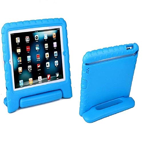 Aken Kids Light Weight Shock Proof Handle Case for iPad Mini 1/ Mini 2 / Mini 3 (Blue)