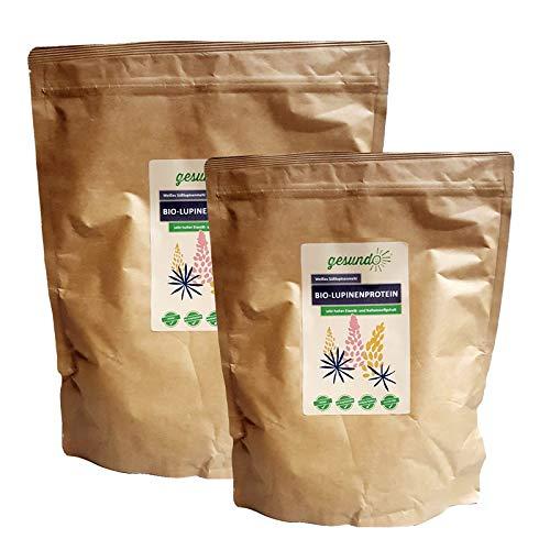 Bio Lupinenmehl - Lupinenprotein der weißen Süß-Lupine, Inhalt:1 kg