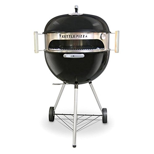 KettlePizza Basic 22.5 - Pizza Oven Kit for 22.5 Inch Kettle Grills. Made in USA