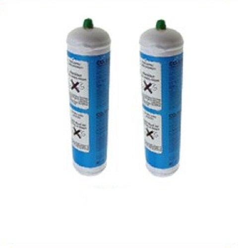 Lotto 2X Bombole CO2 600g monouso per gasatori domestici E290 (2)
