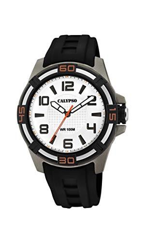 Calypso Watches Reloj Analógico para Unisex Adultos de Cuarzo con Correa en Plástico K5760/4