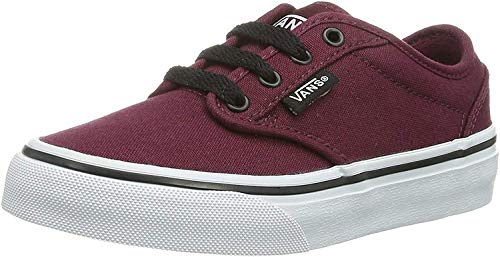 Vans Y Atwood (Palms) c, Zapatillas Unisex Niños, Rojo (Canvas Oxblood/Black), 37 EU