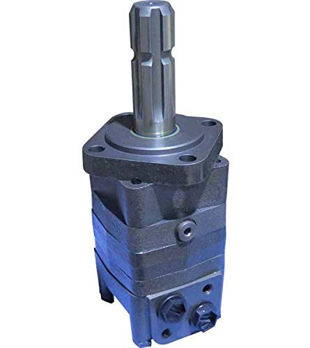 Hydraulikmotor M+S MS_SL, Schluckvolumen wählbar von 80 cm3/U – 565 cm3/U, Anschlüsse: G 1/2'', Welle: Ø 34,85 mm Zapfwelle Größe 100 ccm