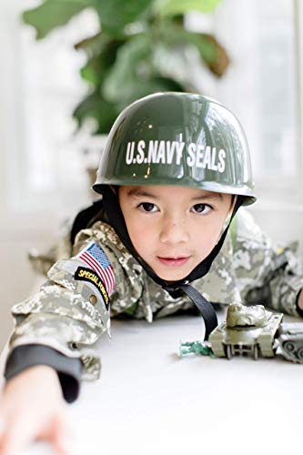 Dress Up America Army Costume - Soldier Costume for Boys and Girls - U.S. Navy Seal Special Forces Dress-Up for Kids