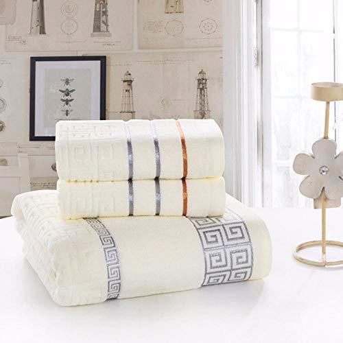 Home+Bath towel set Haute Qualité Textile À La Maison Nouveau 100% Coton Serviette De Bain Ensemble 3 Pièce Serviette De Bain Ensemble Serviette De Bain 1Pcs Serviette De Visage 2Pcs @ A_1Pcs_70 * 1