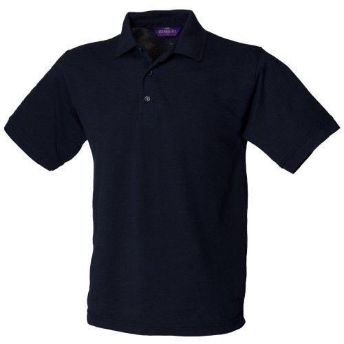 Henbury - Polo à manches courtes - Homme (2XL) (Bleu marine)
