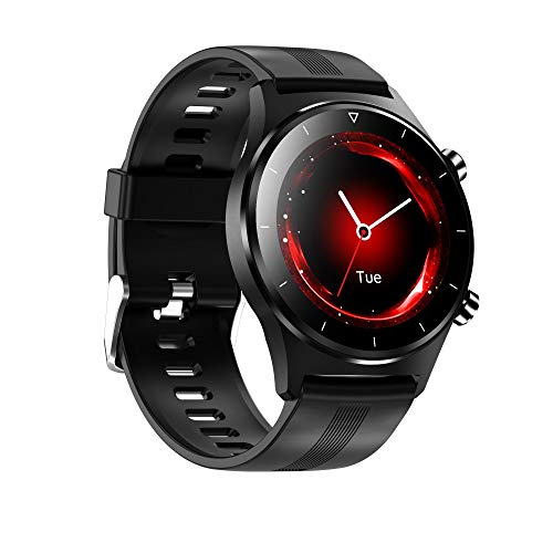 AYZE Relojes Smartwatch Hombre, Registro De Datos De MúLtiples Modos Deportivos, Tiempo/Llamada/Información, Monitoreo De Sueño/Frecuencia CardíAca, Reloj De Fitness con PodóMetro Smartwatch 2