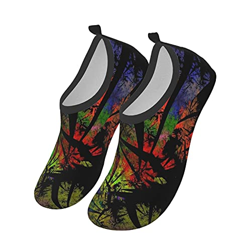 HARLEY BURTON Water Shoes for Women and Men Summer Quick-Dry Aqua Socks Swim Beach Outdoor Surfing Yoga Exercise Womens Mens Shoes Socks