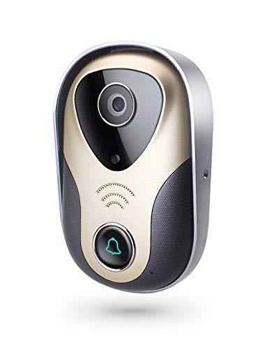 Videoportero con control Desde movil. App con Funciones de Aviso Alarma para Vision y Escucha remota Desde teléfono móvil Yoosee AZ07 (Video portero sin timbre)
