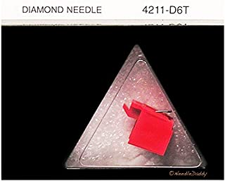 NEW IN BOX TURNTABLE STYLUS NEEDLE FOR SONY PS-LX250H PSLX350 PSLX200 LX350H RED