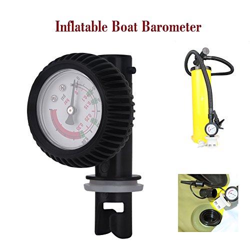 Air Pressure Gauge Nylon Inflatable Boat Barometer