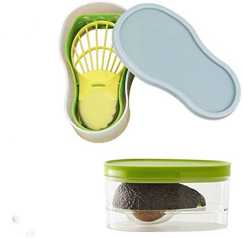 Avocado Slicer, Avocado Saver 5-in-1 Multi-Functional Avocado Tool Set | Avocado Keeper,...