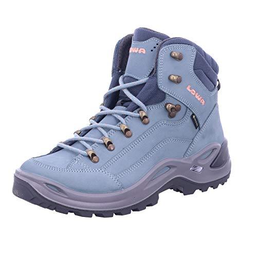 Lowa Renegade GTX MID Ws Damen Wanderstiefel Trekkingschuh Outdoor Goretex 320945, Schuhgröße:38 EU