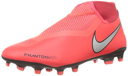 Nike Unisex-Erwachsene Phantom VSN Academy Dynamic Fit MG Fußballschuhe, Mehrfarbig (Bright Crimson/Metallic Silver 600), 42.5 EU