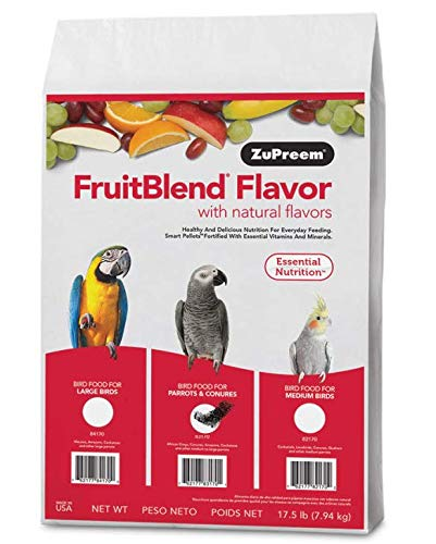 ZuPreem AvianMaintenance FruitBlend Flavor Premium Diet for Parrots & Conures (17.5-lb bag)