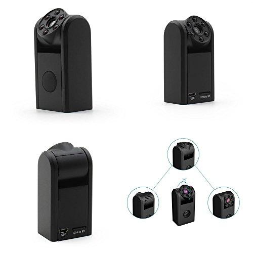 Microcamera Microtelecamera Spia Batteria Lunga Autonomia 1 ANNO Spy Cam Visione Nottuna Infrarossi 940nm Invisibili Occhio Umano Rilevazione Sensore Movimento Pir Motion Detection o Continua H24