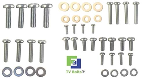 Philips TV mounting Bolts/Screws and washers - Fits All Philips TVs