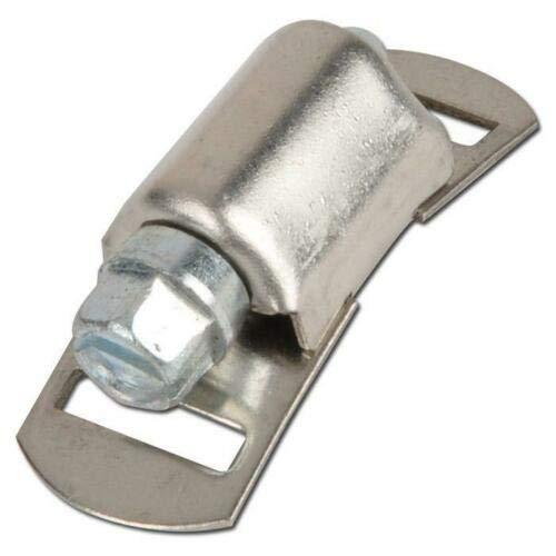 Nur Schlösser für Schlauchschelle Endlos Spannbänder W4 12,7mm 5 Stück