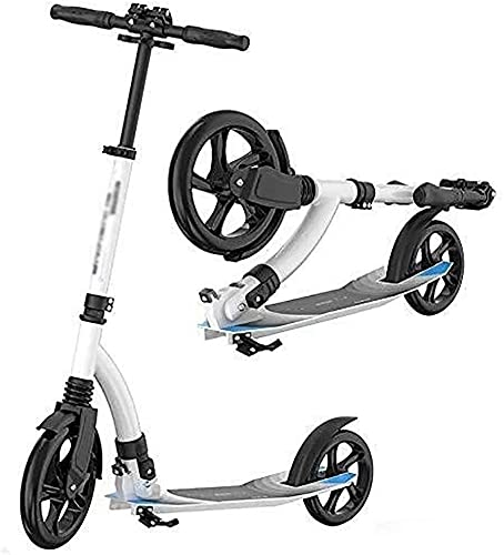 BAIRU monopatín Patinete Scooter portátil | Handarra Ajustable de Scooter de Adultos Plegables 80-96 cm para Adolescentes/Adultos, soporta 220 Libras
