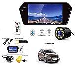 7 Inch Full HD Touch Screen Bluetooth LED Screen+8LED Reverse Camera for Maruti Suzuki Swift New