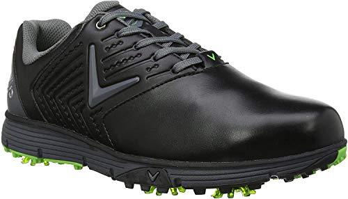 Callaway Delmar Retro, Zapatillas de Golf para Hombre, Negro, 42.5 EU