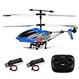 Cheerwing U12 Mini RC Helicopter with Altitude Hold, One Key take Off/Landing Remote Control Helicopter for Kids and Adults (Blue)