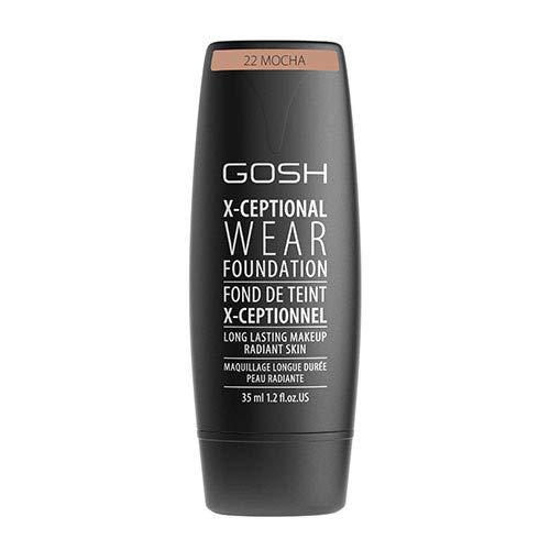 GOSH COPENHAGEN X-Ceptional Wear Make-up 22 Mocha 35ml