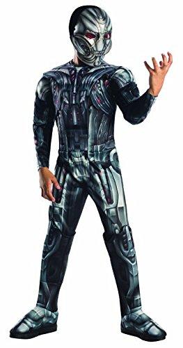 Rubie's IT610442-L Ultron Avengers 2 Deluxe Muscles Taille L