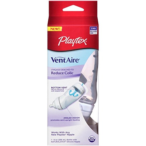 Buy Discount Playtex Ventaire Advanced Bottle with Nip 3M+ 9 oz (5 Pack)
