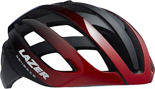 Lazer Genesis Helm red Black Kopfumfang L   58-61cm 2021 Fahrradhelm