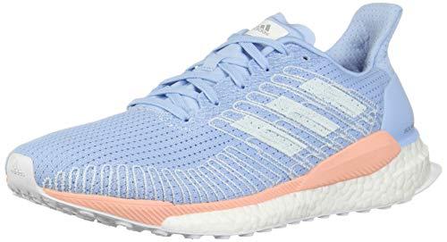 Adidas - Zapatillas de running Solar Boost 19 W para mujer, azul (Azul/coral), 8