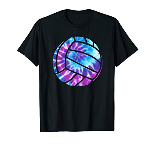 Volleyball Tie Dye Blue Purple Teenage Girls Perfect Gift...