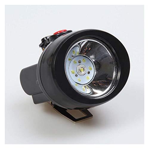 JSJJAET lámpara de Cabeza 2.8LM LED Linterna Faro Luces de Noche Lámpara Miner Linterna Linterna Potentes Faros Pesca LED Acumulador Batería Camping headlamp