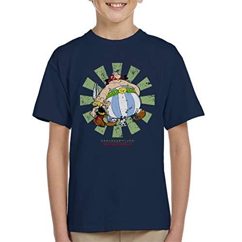 Cloud City 7 Asterix and Obelix Retro Japanese Kid's T-Shirt