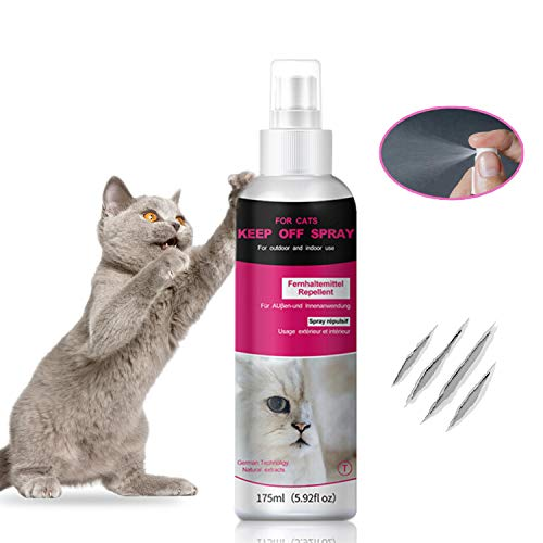 Petsvv Cat Spray for Scratching - Cat Scratch Deterrent for Kittens and Cats|Non-Toxic Cat Repellent Indoor