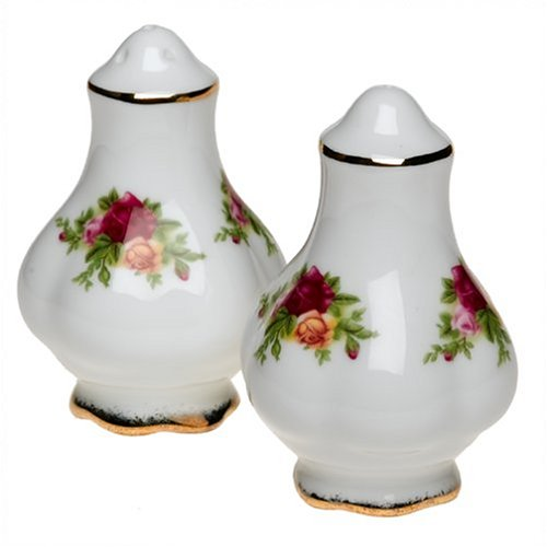 Royal Albert 27400520 Old Country Roses 3-Inch Salt and Pepper Set
