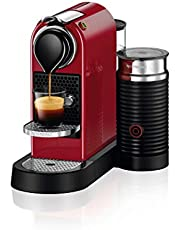 Nespresso Coffee Machine, Red, C123CR