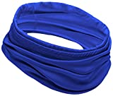 12-in-1 Cooling Neck Wrap/Gaiter, Face Mask & Head Cover, Bandana or Headband for Men & Women - Cooler Scarf for Hot Summer Weather - UPF 50 Keep Cool Headwear - Skin Cancer Foundation Recommended