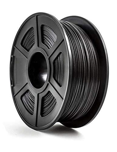3D-Druckerfilament, PETG + Kohlefaserfilament, 1,75 mm, schwarz, 1kg Spule